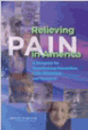 Relieving Pain In America